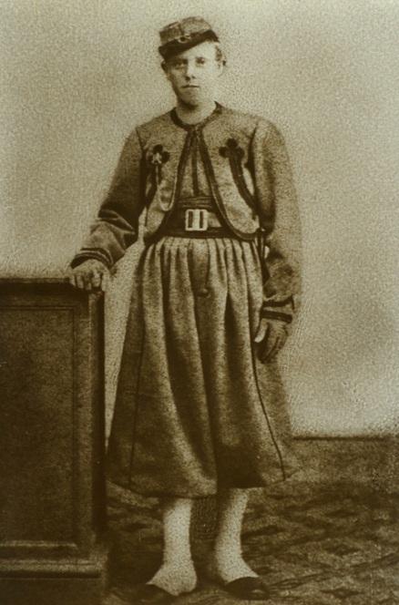 Albert van der Burg - Papal Zouave, 1868