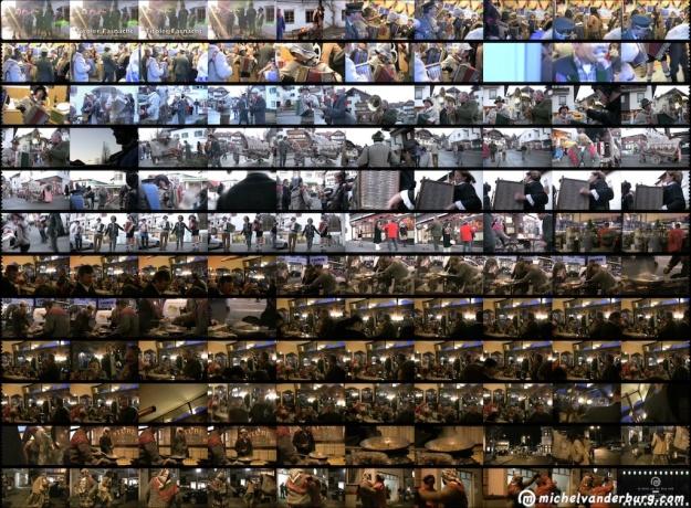 Storyboard video reportage 'Tiroler Fasnacht  -  Unsinniger Donnerstag 2008 in Igls'. Image : BUM10038V01 michelvanderburg.com