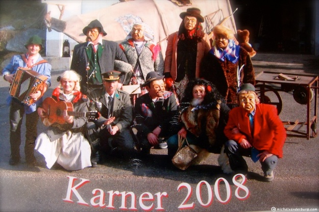 Tiroler Fasnacht - Carnival - Karner 2008. Image : BUM10040V01 michelvanderburg.com