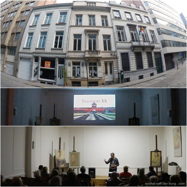 "Atelier Marcel Hastir hosted ""Transport XX to Auschwitz"" screening and filmmaker's talk"