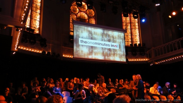 The One Minutes - Transport XX film screening today 5 years ago in Paradiso in Amsterdam (Nov 28, 2010)